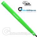 Iguana Golf Neon Classic Velvet Paddle Putter Grip - Green