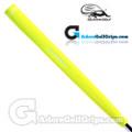 Iguana Golf Neon Classic Velvet Paddle Putter Grip - Yellow