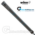 Winn Dri-Tac Undersize / Ladies Soft Feel Grips - Grey / Blue