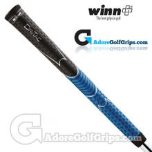 Winn Dri-Tac Midsize Soft Feel Grips - Black / Blue