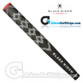 Black Widow Finisher Jumbo Paddle Putter Grip - Black / White / Red