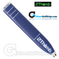 2 Thumb Pro Light Putter Grip - Blue / White