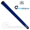 The Grip Master Montana Cow Leather Stitchback Pistol Putter Grip - Blue