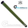 The Grip Master Montana Cow Leather Stitchback Pistol Putter Grip - Dark Green