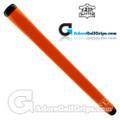 The Grip Master Montana Cow Leather Stitchback Pistol Putter Grip - Orange