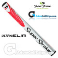 SuperStroke Ultra Slim 1.0 Putter Grip - White / Red