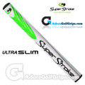 SuperStroke Ultra Slim 1.0 Putter Grip - White / Lime Green