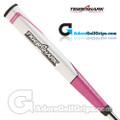 Tiger Shark Jumbo Pistol Putter Grip - Pink / White