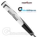 Tiger Shark Mega Pistol Lite Putter Grip - Black / White