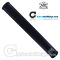 The Grip Master FL 25 Colorado Leather Sewn Jumbo Feather Lite Putter Grip - Black / Black Underlisting