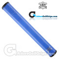 The Grip Master FL 25 Colorado Leather Sewn Jumbo Feather Lite Putter Grip - Blue / Black Underlisting