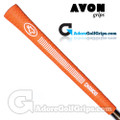 Avon Chamois Jumbo Grips - Orange / White