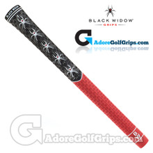 Black Widow WM1 Widow Maker Cord Grips - Black / Red