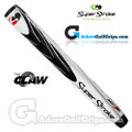 SuperStroke The Claw Midsize Pistol Putter Grip - White / Black