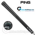 """Ping ID8 360 Undersize / Ladies (Aqua Code -1/64"""") Grips - Black / Aqua"""