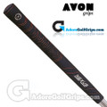 Avon Nexus Jumbo Grips - Black / Red