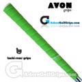 Avon Tacki-Mac Tour Pro Plus Neon Midsize Grips - Green