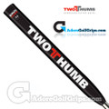 2 Thumb Snug Daddy 33 Jumbo Putter Grip - Black / White / Red