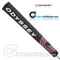 Odyssey Jumbo Pistol Light Putter Grip - Black / Red / White