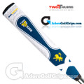 2 Thumb Big Daddy Light Flag Of Scotland Putter Grip - White / Blue / Yellow
