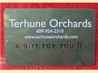 Terhune Orchards Gift Cards