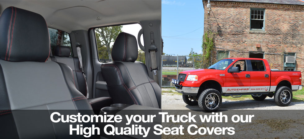 Go Custom with your Clazzio Seat Covers