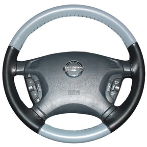 Eurotone Two-Tone Steering Wheel Cover