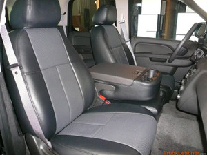 Clazzio Vinyl Seat Covers - GMC Yukon '07-'11 (2 Row Model)