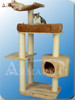 Premium Solid Wood Cat Tree S6107