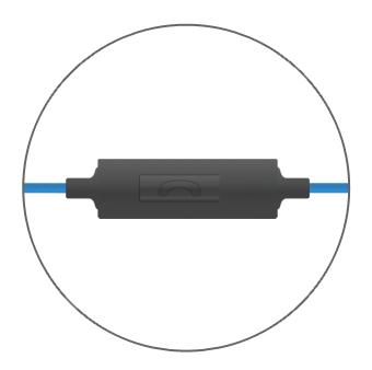 Bedphones inline microphone