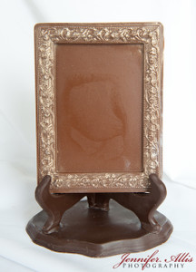 """Martha"" Chocolate Frame"
