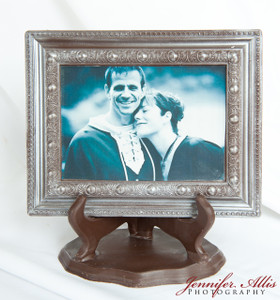 """ Debra"" Chocolate Frame"