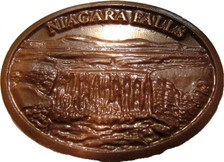 The Original Niagara Falls Chocolate Medallion