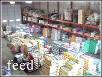 Bridgewater Farm Supply feed warehouse
