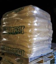 Barefoot wood pellet ton