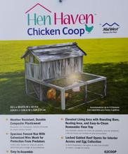 Hen Haven plasticwood chicken coop