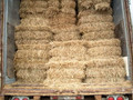 Mulch hay bales