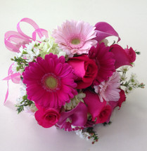 Pretty in Pink Prom Bouquet