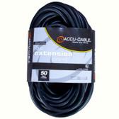 Accu Cable 50'-16 Gauge Edison Extension