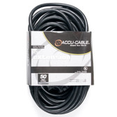 Accu Cable 50'-12 Gauge Edison to TriTap