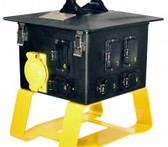 Lex 50 Amp Terrapin Station II™ to Locking Receptacles, Feed Thru