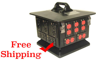 100 amp power distro, Lex Pagoda with Duplex Receptacle Outlets DB100A-A401520