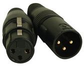 Accu Cable 3 Pin DMX Connectors