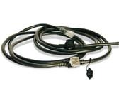 Lex 15 Amp E-String (3) NEMA 5-15 - Black, 25'