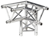 Global Truss TR-4093DR, 1.64ft (0.5m) 3 Way 90 Degree Right Corner Apex Down Right TR-4093DR