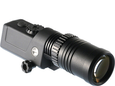 Pulsar IR Flashlights' spot can be smoothly adjusted from narrow beam to flood. Unfocused beam illuminates larger area; the narrow beam light ensures longest possible viewing distance.