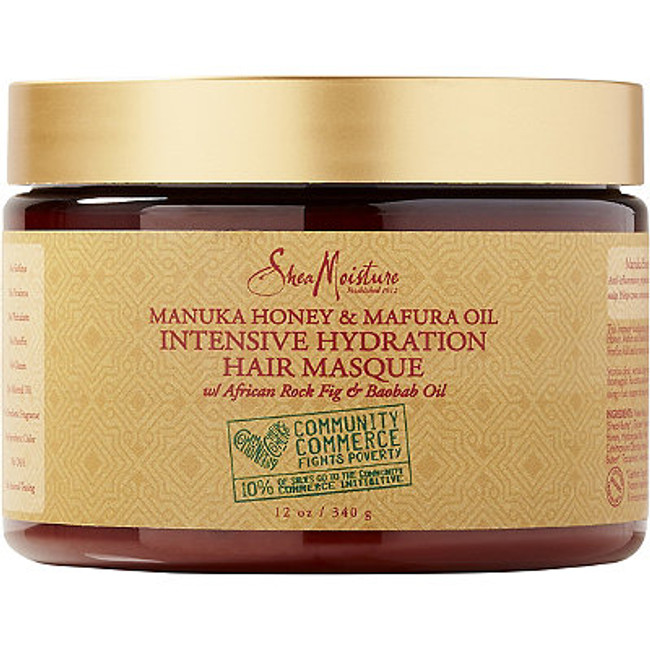 Shea Moisture Manuka Honey and Marfura Oil Hydration Intensive Masque - 12 oz