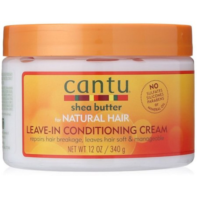 Cantu Shea Butter Leave In Conditioning Repair Cream, 12 oz