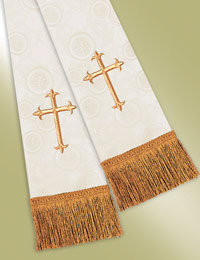 Millenova Pulpit / Clergy Stole 13101 - Ivory