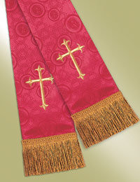 Millenova Pulpit / Clergy Stole 13100 - Red